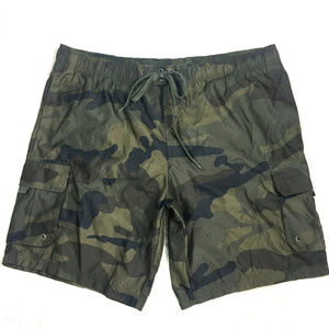 OP Camo Cargo Board Short Swim Trunks Sz 2XL